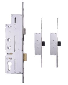 Fullex Crimebeater Door Lock 3 Dead Bolt 45mm Backset 20mm Plate 92pz