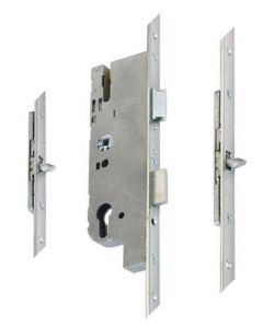 GU Ferco Tripact Door Lock 2 Tongue Hook 40mm Backset 70pz 20mm Plate