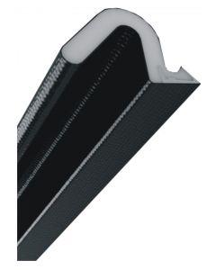 Aquamac 89 Weather Draught Seal Qlon Black 2.1 Mtr Length 17mm X 11mm