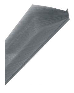 Brush Pile Grey Draught Brush Gasket Seal For Upvc 6.9mm x 14mm High