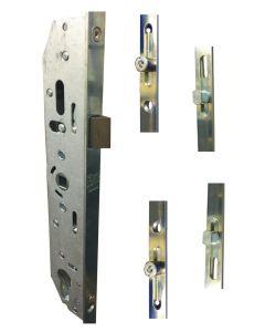 Mila 2 Mushroom 2 Roller Cam Upvc Door Lock 28mm Backset 047042