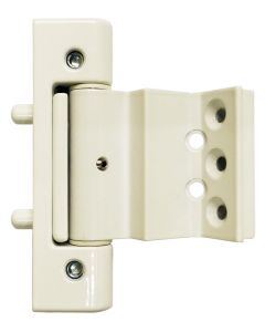 Mila Ideal Euro Rebate Door Hinge White 22mm Leg 9mm 11mm Or 13mm Axis