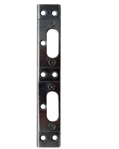 Mila French Door Double Shoot Bolt Keep Plate