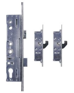 Lockmaster Milamaster Door Lock 2 Hook 35mm Backset 92pz 20mm Radius End Faceplate