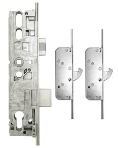 Roto Door Lock 2 Hook 2 Mushroom 35mm Backset