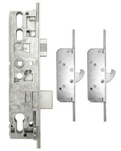 Roto Door Lock 2 Hook 2 Mushroom 35mm Backset