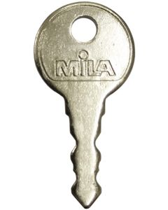 Mila Contora Matching Upvc Window Handle Key Stamped WNC1