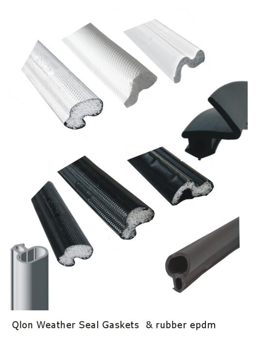Qlon & Rubber Weather Gasket Rain And Water Seal For Upvc Windows ...