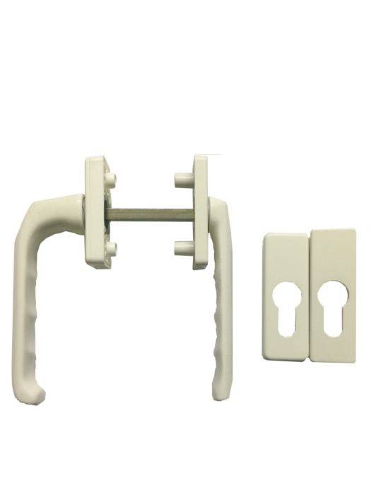 Hoppe Slim Height Type Patio Door Handle Gold Silver White