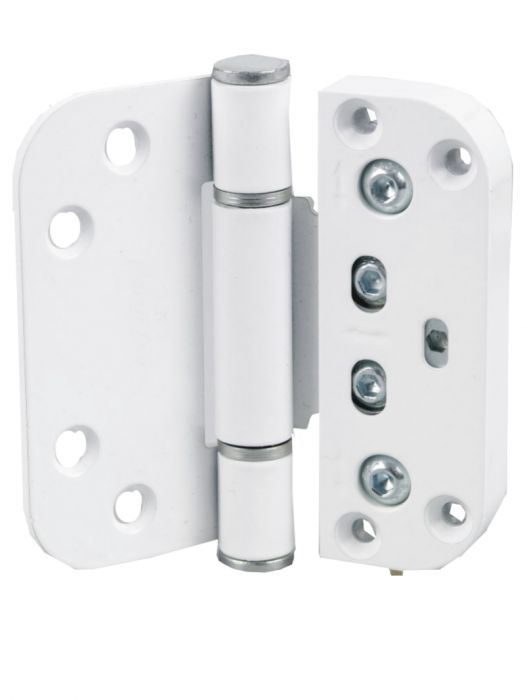 Nico Proload Timber Upvc Composite Butt Type Door Hinge In White Heavy Duty  Adjustable