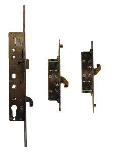Safeware 3 Hooks 4 Roller Cam Upvc Door Lock 35mm Backset