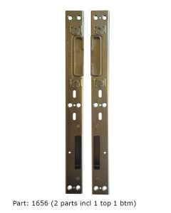 Lockmaster Hook Dead Bolt Roller Cam Striker Keep 2 Parts PLK99
