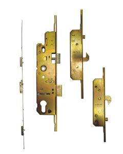 AGB 2 Hooks 3 Roller Cam Upvc Door Lock 35mm Backset