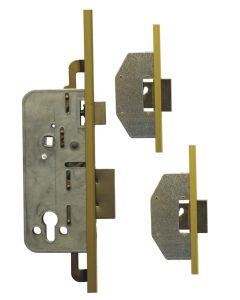 Ucem 3 Dead Bolt Door Lock 50mm Backset 20mm U Rail Face Plate 85pz