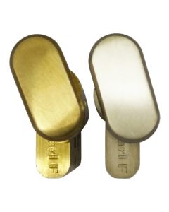 Gardinia Thumb Turn Euro Profile Cylinder Gold or Silver Door Lock