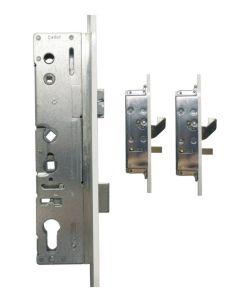 Lockmaster Paddock Door Lock 2 Hook 2 Pin 45mm Faceplate 45mm Backset