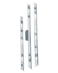 Slim 13mm Faceplate Window Lock Rod Kit Offset Or Inline 22mm Backset