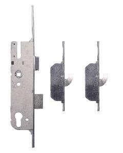 GU Europa Door Lock 2 Hook 45mm Backset Split Spindle 20mm Faceplate