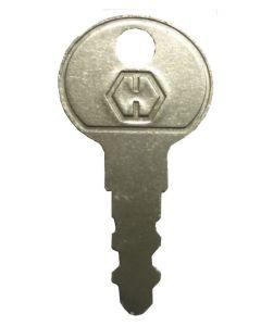 Hoppe Casement Open Out Window Handle Lock Key KWL49
