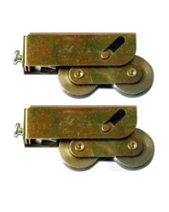 Inline Patio Door Bogie Roller Wheels Monarch Schlegel Match Pair