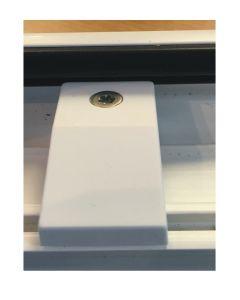 Upvc Run Up Riser Block White Window Or Doors 11mm Step Guide Closer