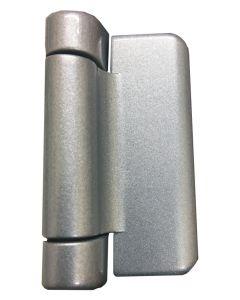 Fab & Fix Haven HD Composite Door Hinge Silver