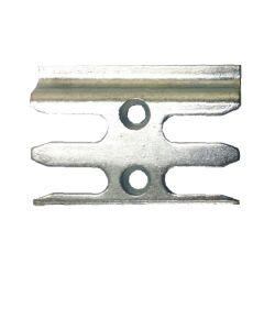 Avocet ERK135M Keep Plate Striker Mushroom Upvc Window Lock