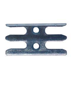 Avocet ERK041MB Or Wkm041T Keep Plate Striker Mushroom Upvc Window Lock