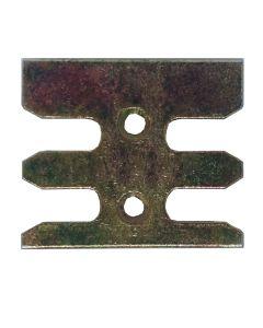 Avocet WKM132T Or ERK132M Keep Plate Striker Mushroom Upvc Window Lock