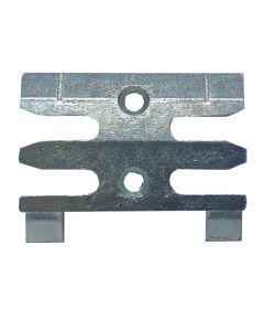 Avocet WKM018T Or ERK018M Keep Plate Striker Mushroom Upvc Window Lock