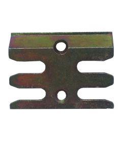 Avocet ERK099M Keep Plate Striker Mushroom Upvc Window Lock