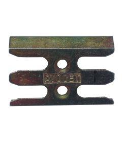Avocet ERK107M Keep Plate Striker Mushroom Upvc Window Lock