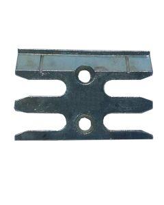 Avocet WKM080T Or ERK080M Keep Plate Striker Mushroom Upvc Window Lock