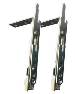 Avocet Upvc Door Shoot Bolt Corner Extension 80mm Short Pair WMS