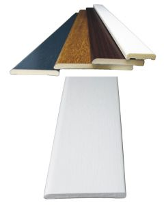 Upvc Door or Window Trim Architrave 5 Metre Coiled Length 5 Colours