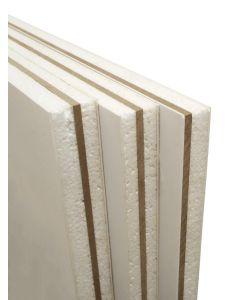 White Upvc Door Panel Reinforced Flat Foam Infill 28mm 24mm 20mm Thick