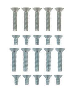 Gardinia Door Lock And Keep Plates M4 M5 Grub Screw Bolts Kit Bag 20