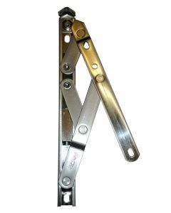 Nico 8 Inch Friction Stay Window Hinge 13mm Stack Height