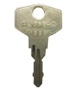 Hoppe 1323 Upvc Window Handle Key KCW5