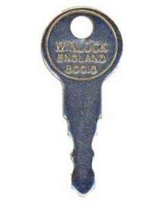 Winlock 80016 Upvc Window Handle Key KWL22