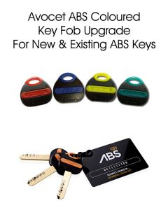 Avocet ABS Coloured Fob Upgrade For ABS Locks (Red, Blue, Yellow, Green)