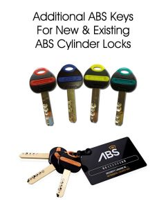 Avocet ABS Additional Keys for Bespoke Orders or Existing Cylinders