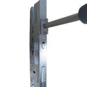 Step 1 - Undo the screw in the latch