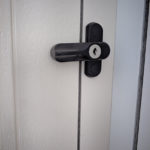 Flush Fitting Locking Sash Jammers For Composite Doors and Timber Windows